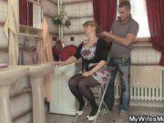 Русские порно мать и сын в каникулы смотреть